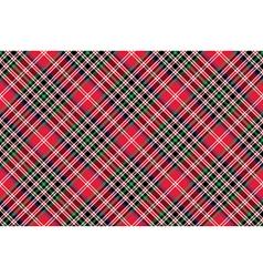 Kemp tartan fabric texture check diagonal pattern vector