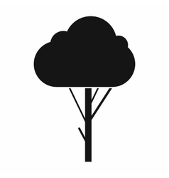 Tree icon simple style vector image vector image