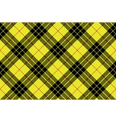 Macleod tartan kilt fabric texture plaid diagonal vector