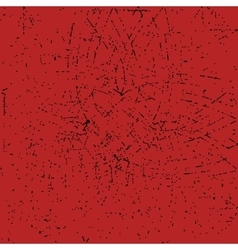 Red ornate grunge vector