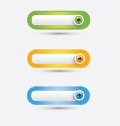 Button web vector image