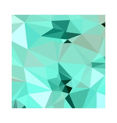 Caribbean green abstract low polygon background vector