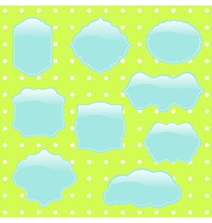Different frames for Your design vector image vector image