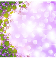 holiday wild violet vector image