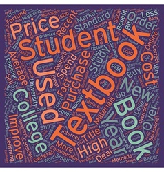 How to overcome the high prices of college vector
