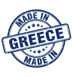 made in greece vector image