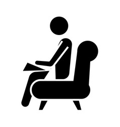 Psychologist - consultant icon vector