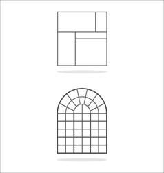 Window frames vector