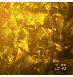 3D Orange Abstract Business Background with vector image