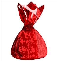 Candy in a wrapper vector