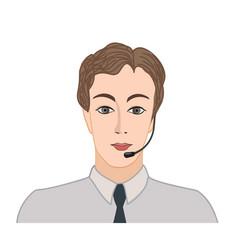 Avatar icon male profile sign man portrait vector