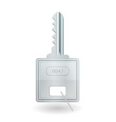 padlock key icon vector image