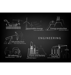 Set engineering engineering in production and vector