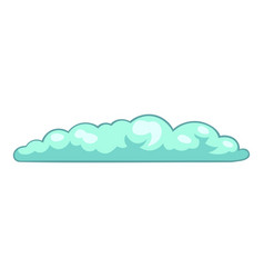 Summer cloud icon cartoon style vector