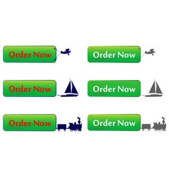 Order now button vector