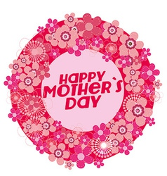 Motherss day background vector
