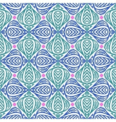 Modern stylization of Indian patterns vector image vector image