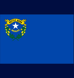 Nevada state flag vector