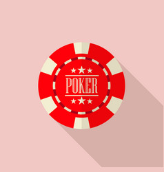 Poker chip vector
