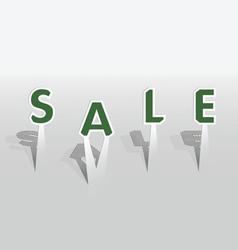 Sale word vector