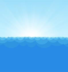 Sea Simple Background copy vector image vector image