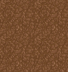 Seamless leather pattern vector image