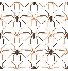 spider web silhouette arachnid fear seamless vector image
