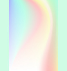 Vertical abstract background with holographic vector