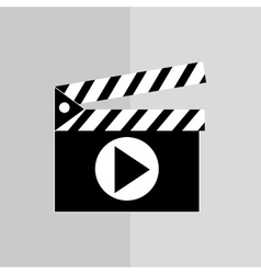 Film and movie icon design vector