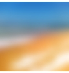 Blurred background sea and sun vector