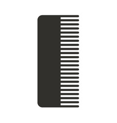 barbershop comb isolated icon vector image vector image
