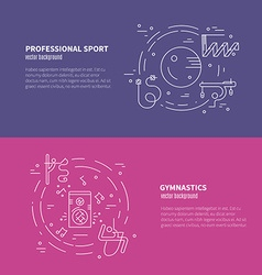 Rhythmic gymnastics concept vector