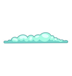 Spring cloud icon cartoon style vector