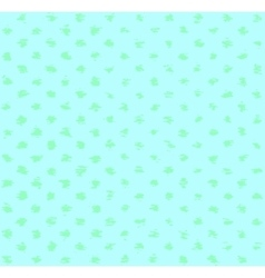 Turquoise spotted pattern vector image vector image