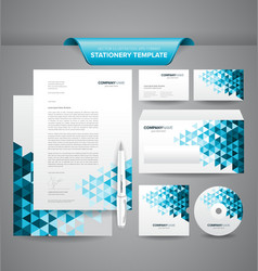 Business stationery templates vector
