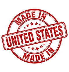 Made in united states vector