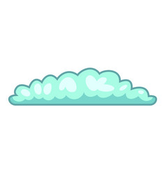 Cyclonic cloud icon cartoon style vector