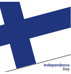 Finland independence day vector