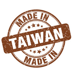 Made in taiwan vector