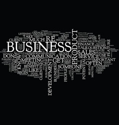 The biggest blunders in business development text vector