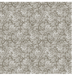 Monochrome pattern background for wrapping paper vector