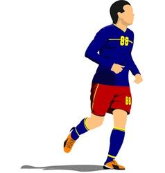 al 1041 soccer 01 vector image