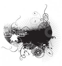 Grunge ink vector