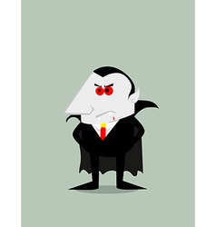 Cartoon dracula vector