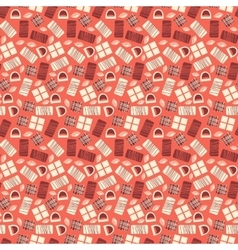 Chocolate bars seamless pattern vector