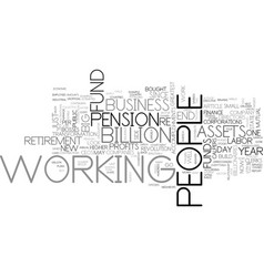 a new look at labor day text word cloud concept vector image vector image