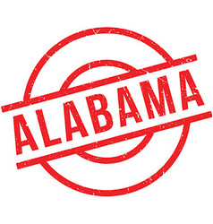 Alabama rubber stamp vector