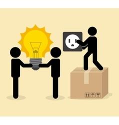 Electricity service vector