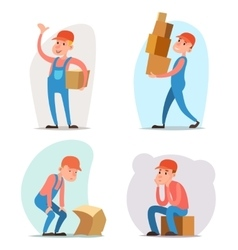 Box cargo freight loading delivery shipment loader vector