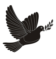 Peace dove vector